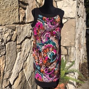 AB studio multi colored dress